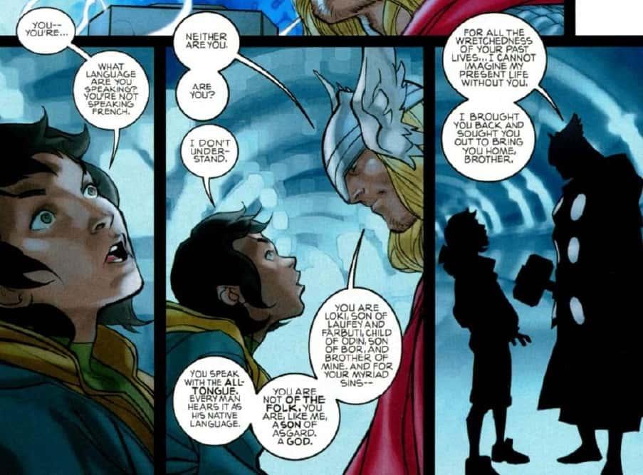 Marvel Comics Update Loki