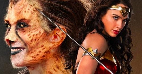 Set Photos of Wonder Woman 1984 Cheetah