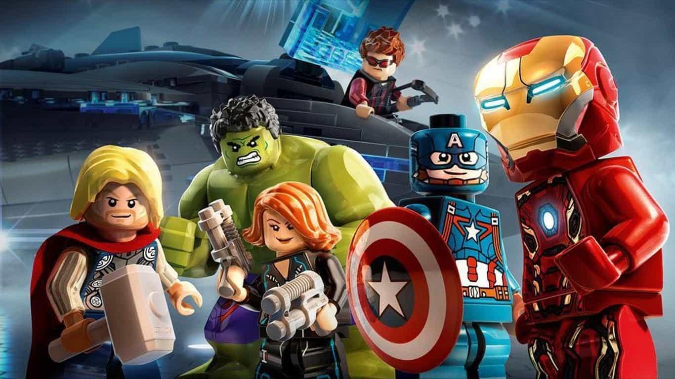 Avengers 4 Lego Iron Man Quantum Realm
