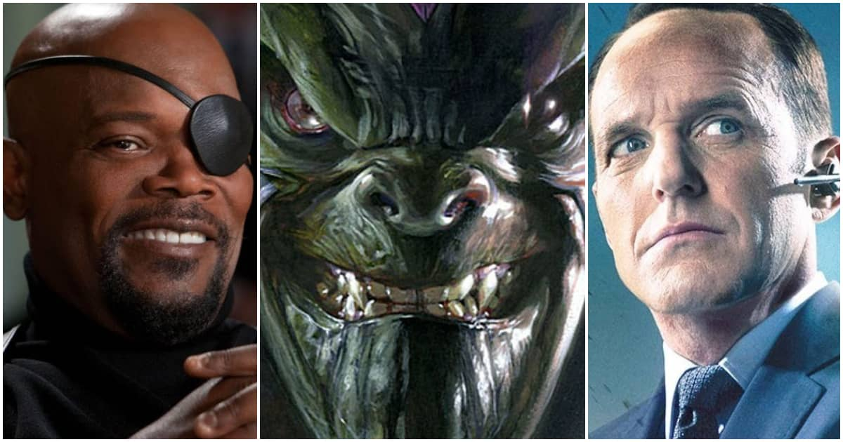 Photo of New Fan Theory Claims Nick Fury Lost His Eye to Skrull Agent Coulson