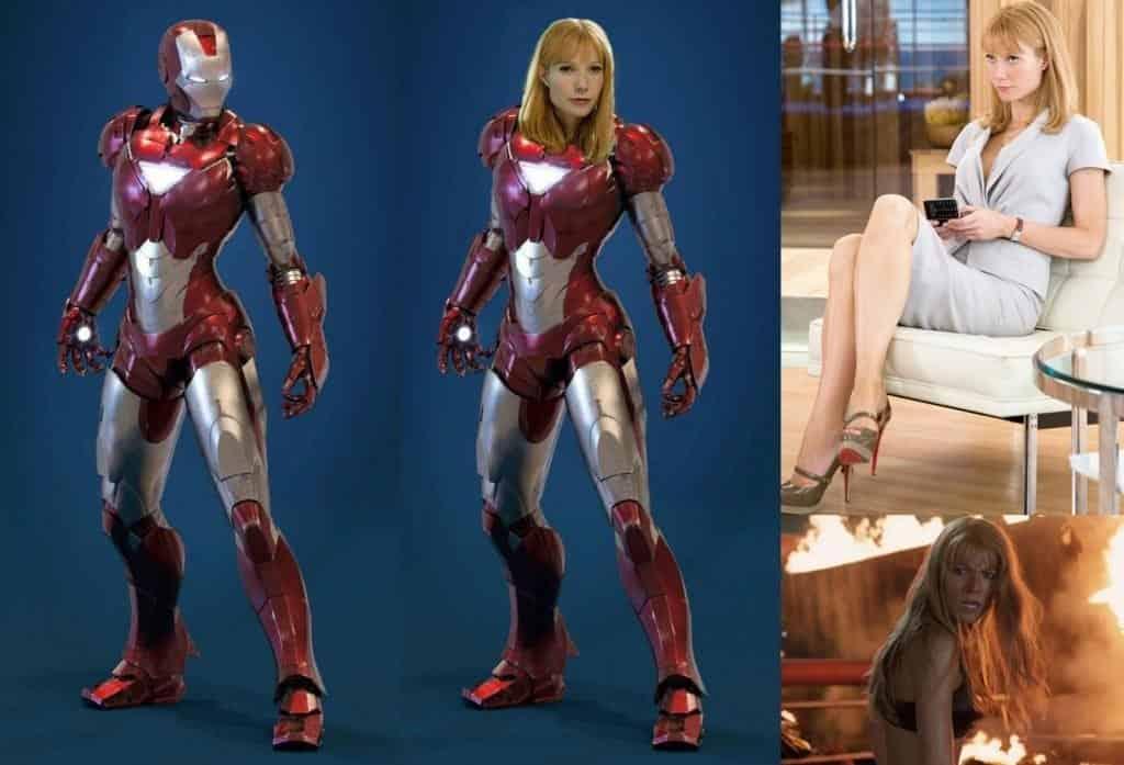 Pepper Potts Rescue Armor Avengers 4