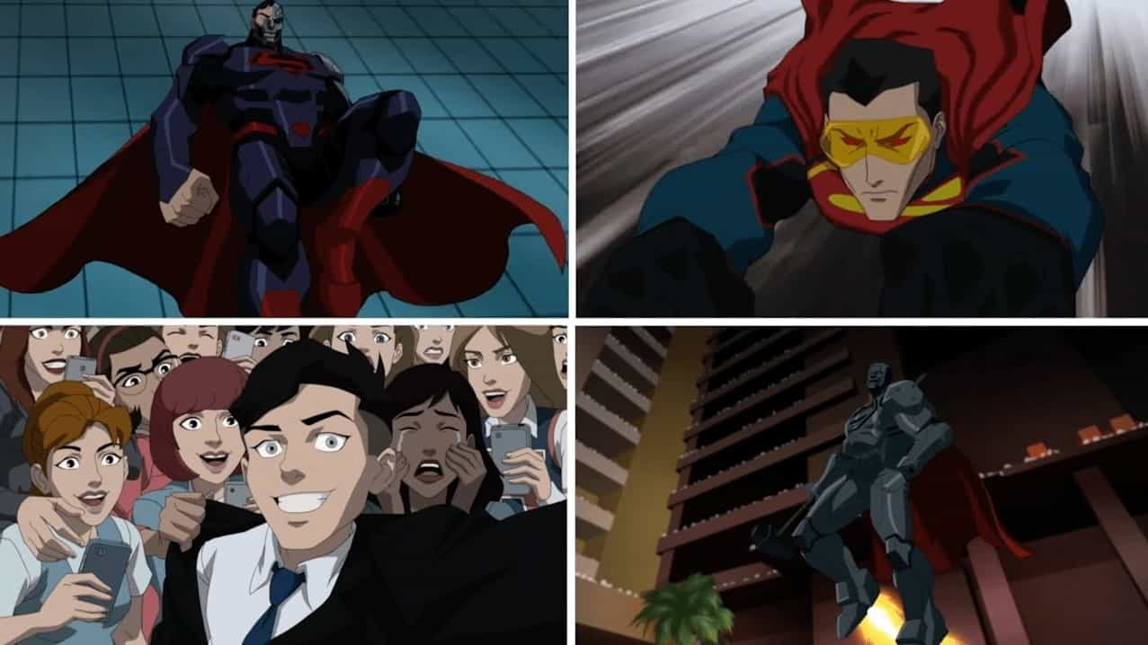 Photo of Here's the Brand New Trailer of DC's 'Reign of The Supermen' Animated Film