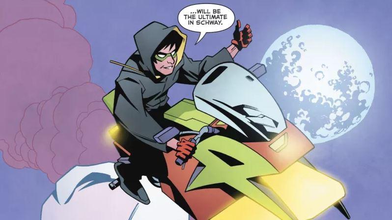 Nora Allen Batman Beyond Easter Egg