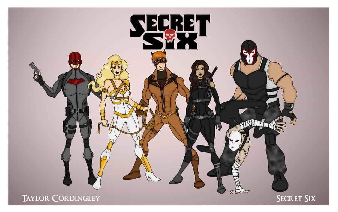 Secret Six CBS DC Comics