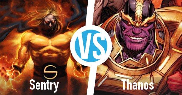 Sentry vs Thanos