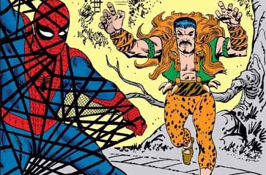 Spider-Man Kraven Movie Sony