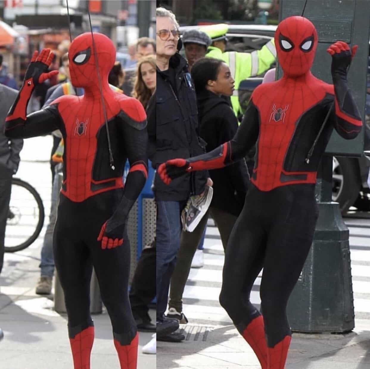 Spider-Man: Far From Home Set Video