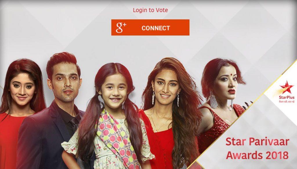 Photo of Star Parivaar Awards 2018 Voting