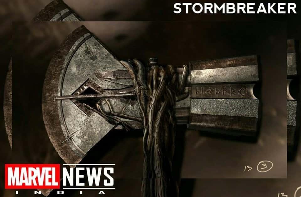 Stormbreaker Concept Art Avengers 4