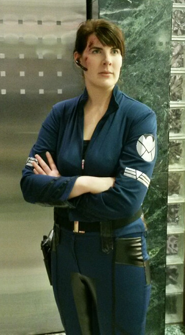 Agent Maria Hill Cosplays
