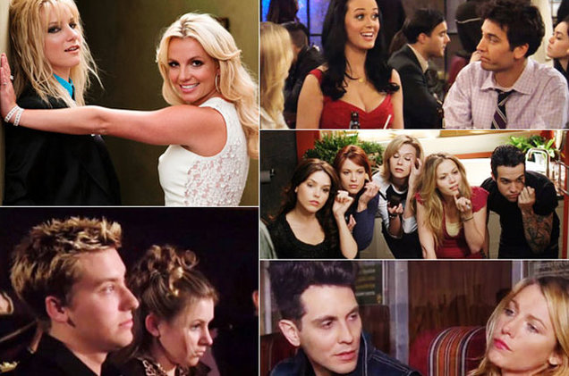 Celebrity Cameos on Famous TV Shows