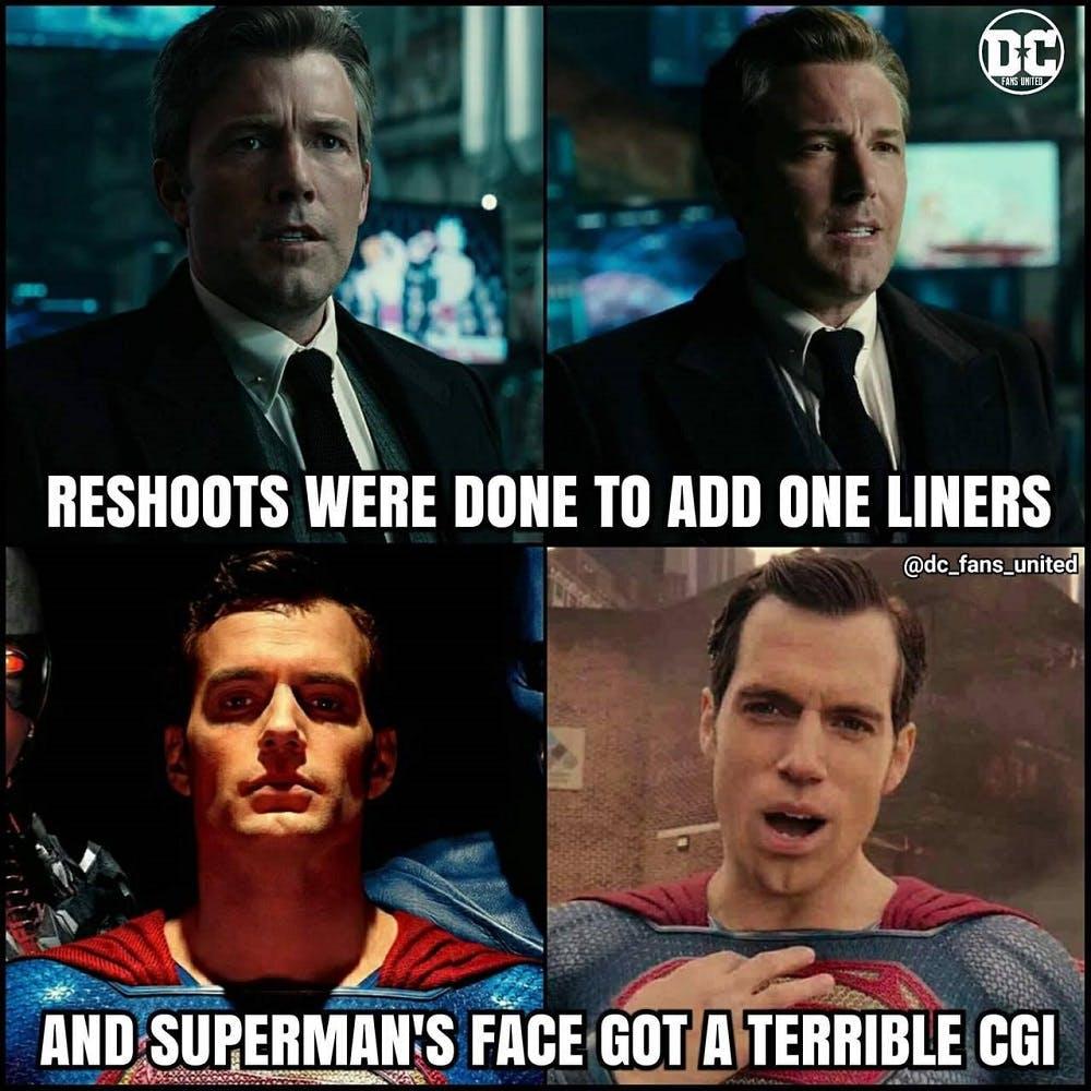 Superman CGI Mustache Memes