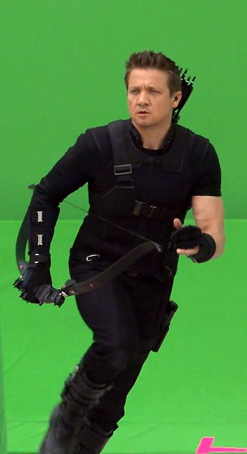 Hawkeye On-Set