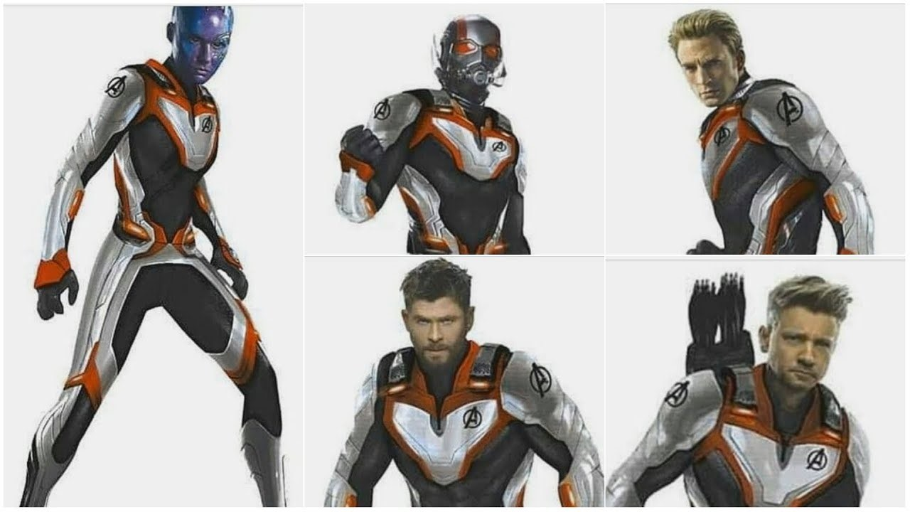 Quantum Realm Avengers Suits New White Suits