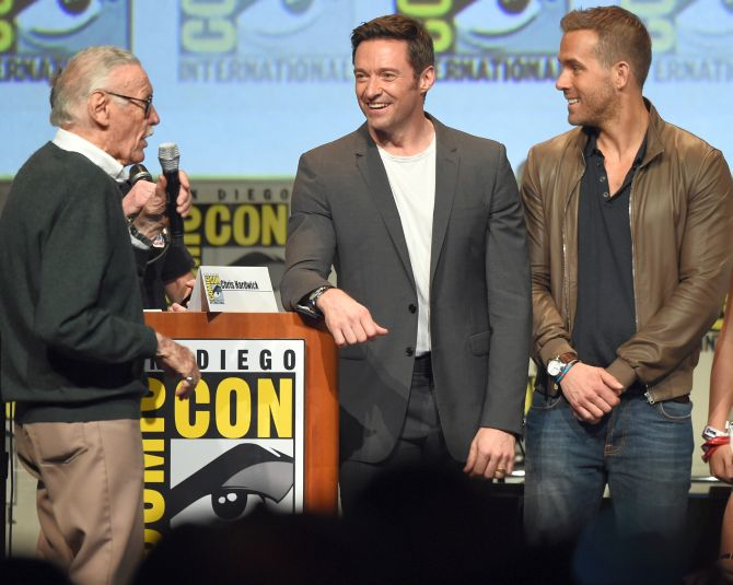 Ryan Reynolds Hugh Jackman Deadpool Wolvernie Team-up Movie