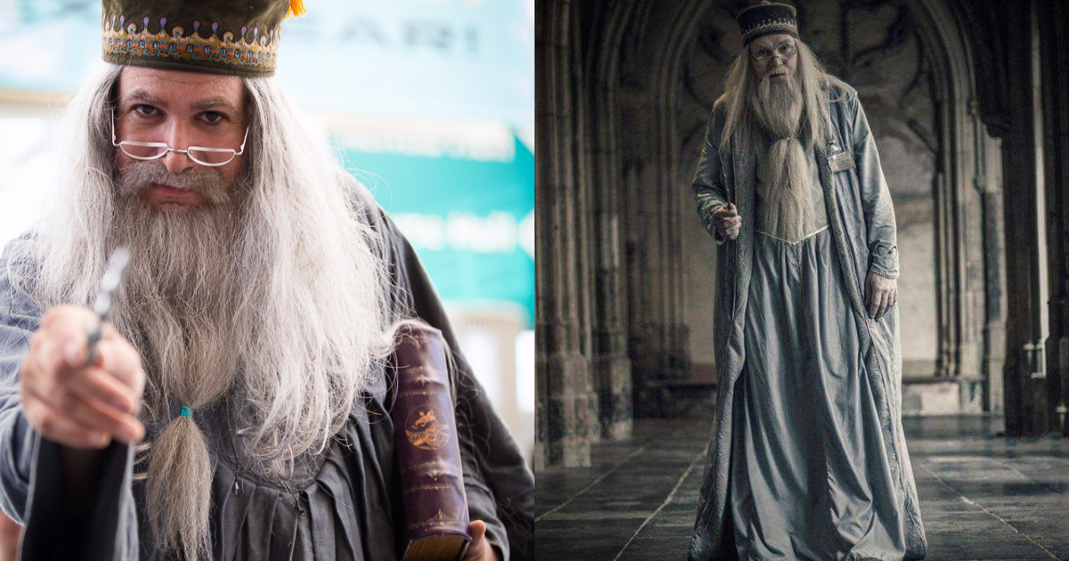 Photo of 27 Amazing Albus Dumbledore Cosplays That Will Blow Your Senses