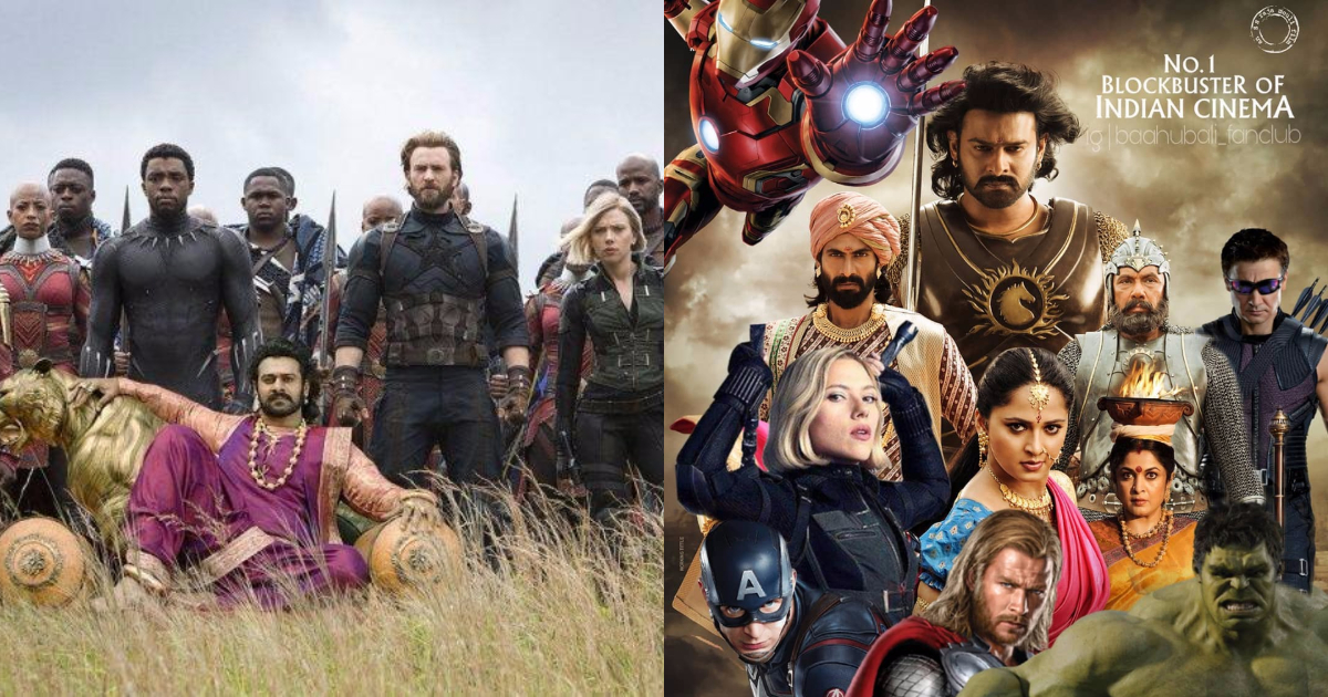 Avengers With Bahubali