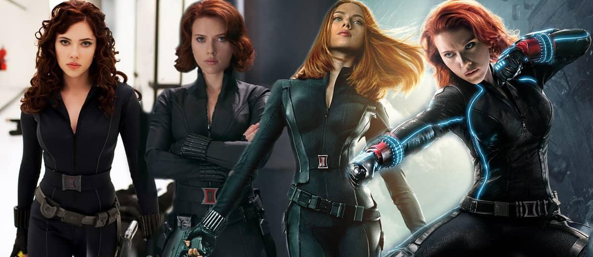 Different Look of Black Widow