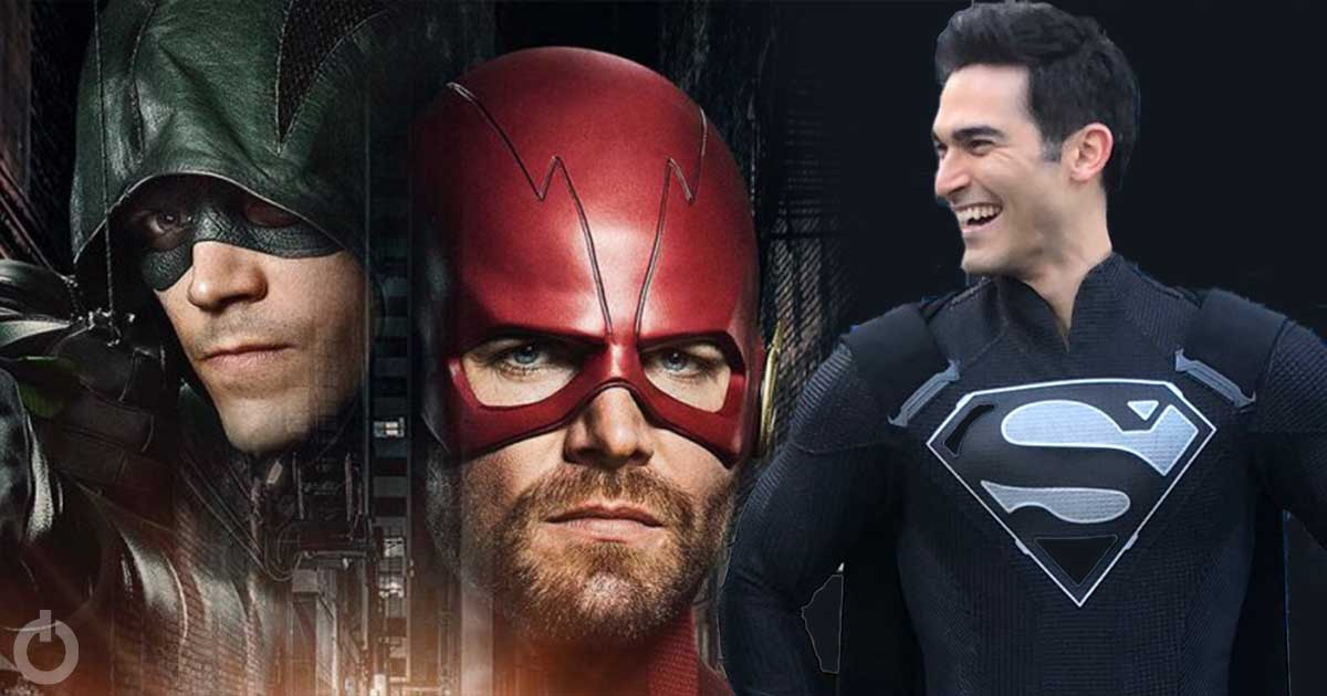 Photo of New 'Elseworlds' Teaser Reveals Black Superman Suit And Other Plot Details