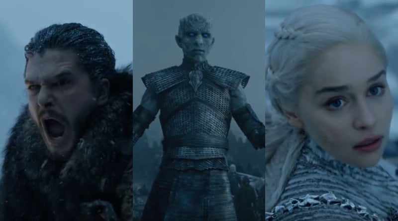 TV Shows ending in 2019 Game of Thrones Season 8 Teaser