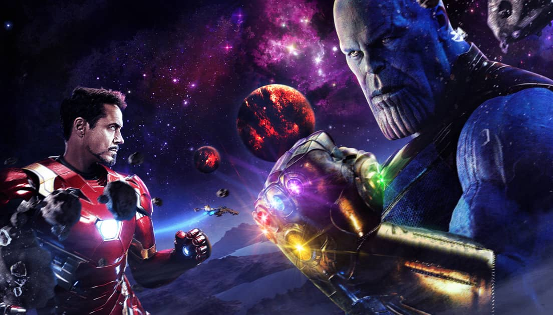 Photo of New Avengers: Infinity War Concept Art Showcases Iron Man's Battle on Titan