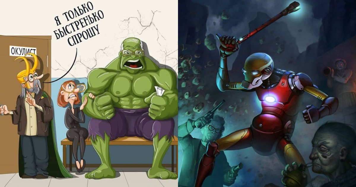 Photo of 25 Times Fans Reimagined Their Favorite Marvel Superheroes As Oldies