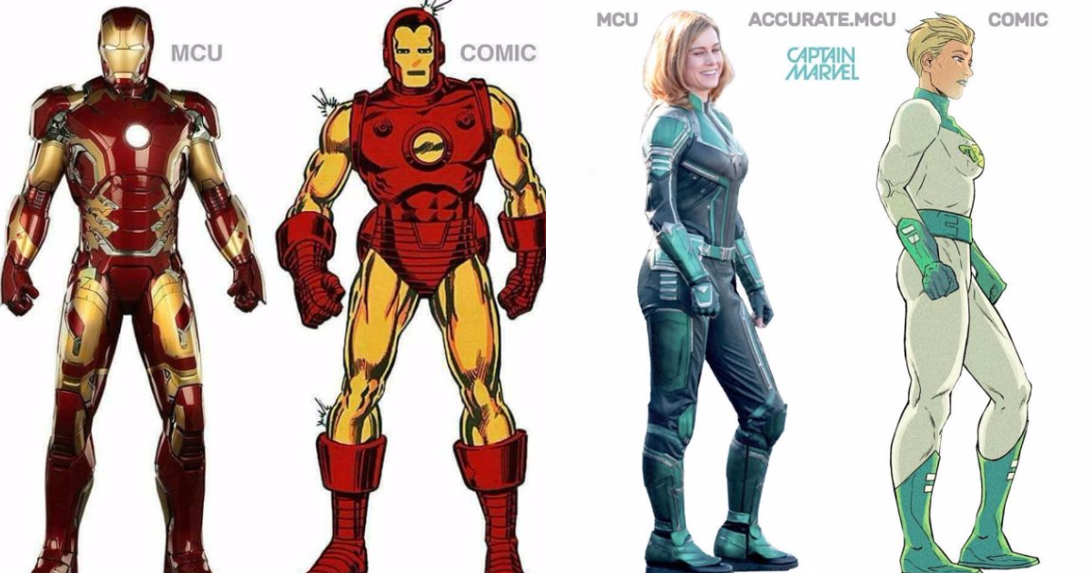 Photo of Movies Vs Comics: How Accurate Are The MCU Characters To Their Comic Book Versions?