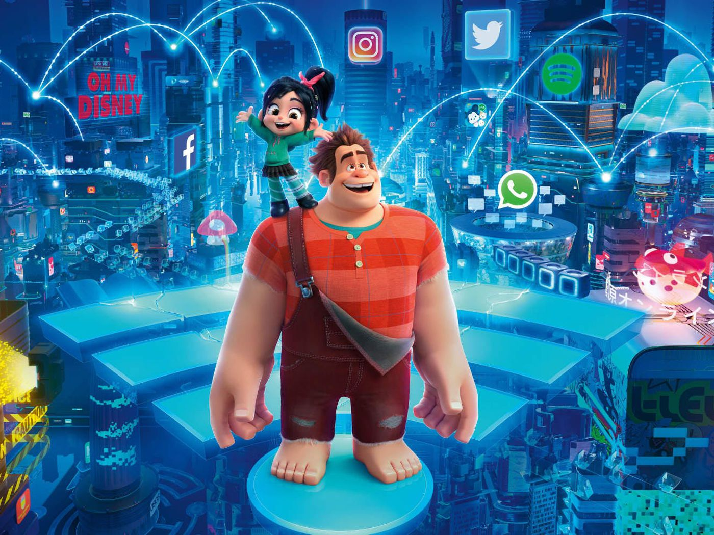 Photo of Ralph Breaks The Internet Full Movie Download In 720p HD