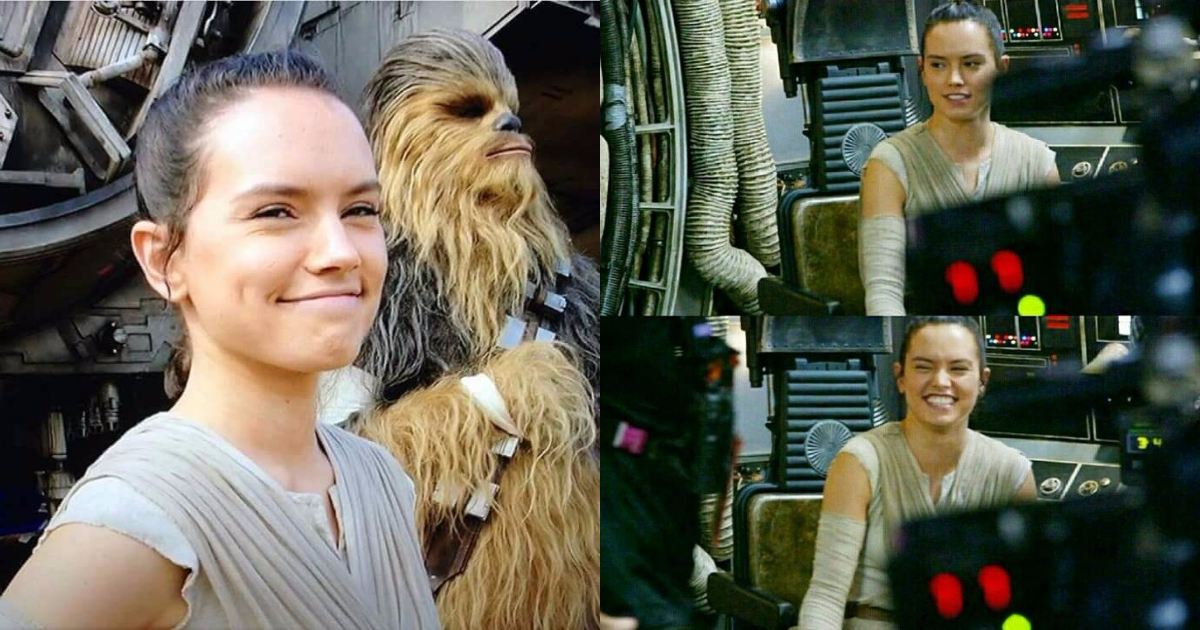 Photo of 28 Adorable Rey Star Wars Behind-The Scene Images