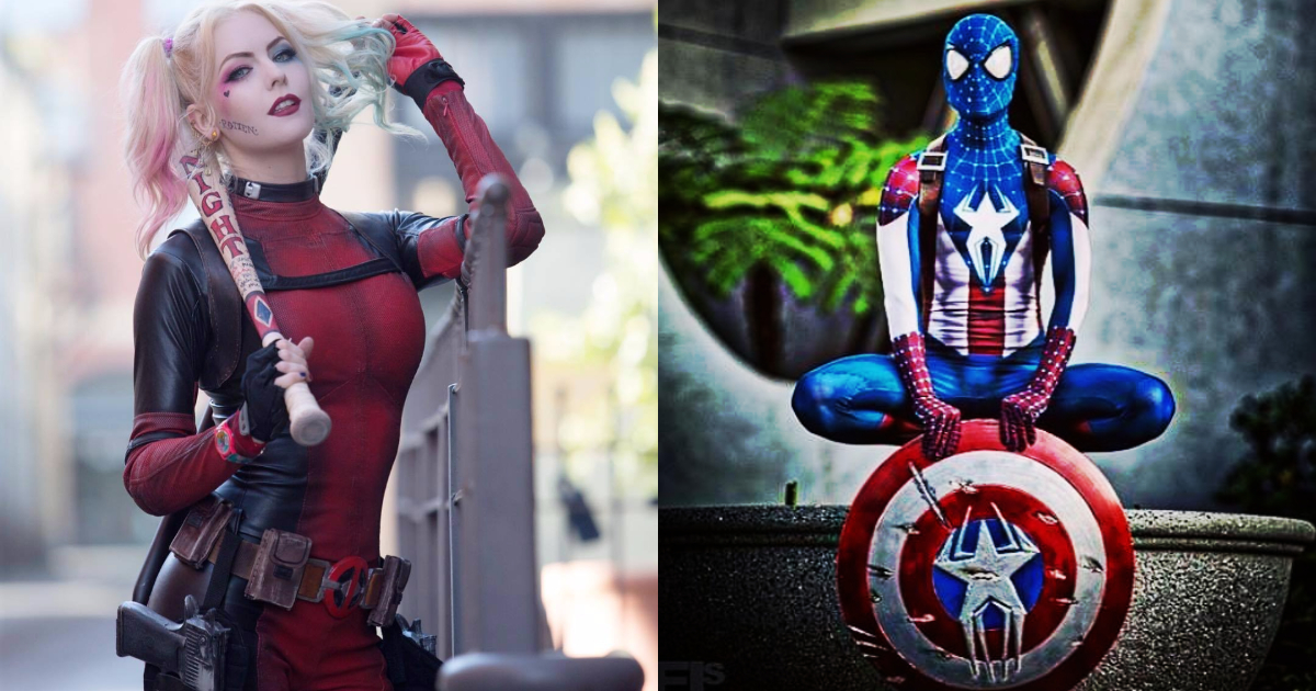 Superhero Cosplay Crossovers
