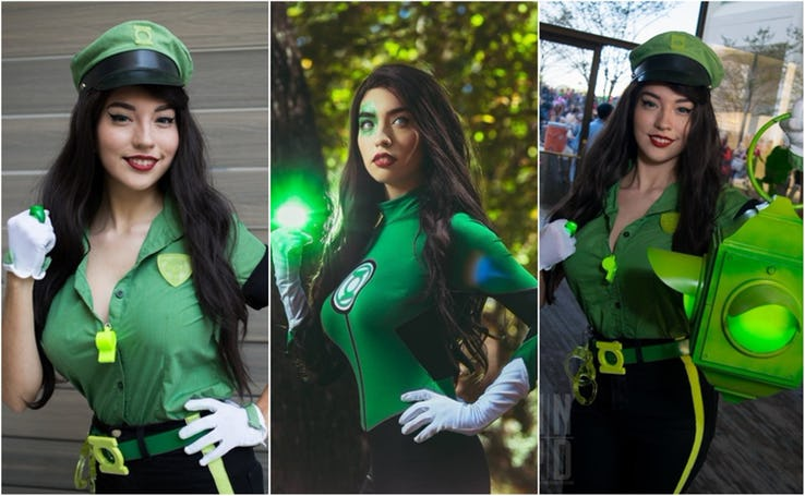 Green Lantern Cosplays