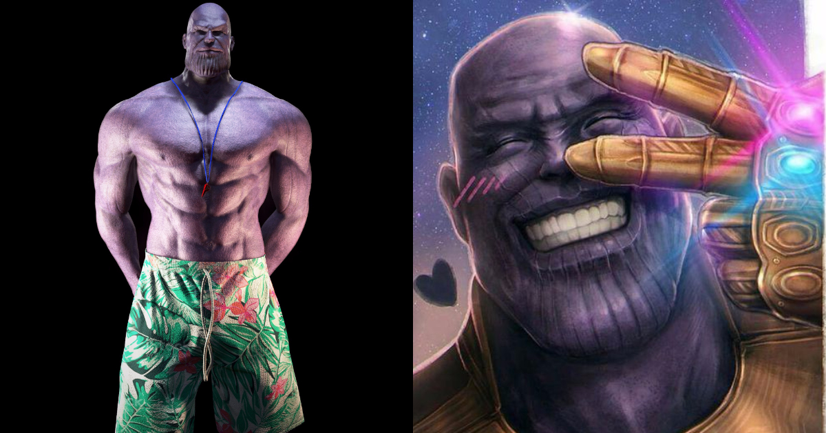 Photo of 25 Funniest Thanos Fanart Images That Will Make You Laugh Hard