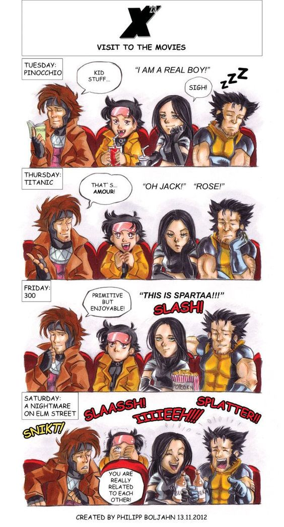 X-Men Fanart Memes