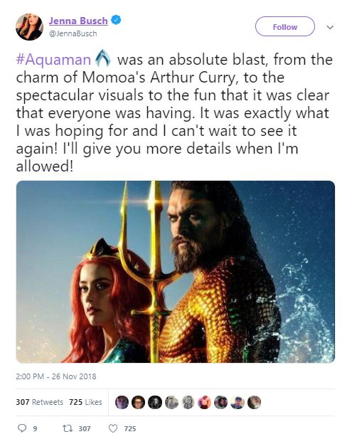 Aquaman Reactions DCEU