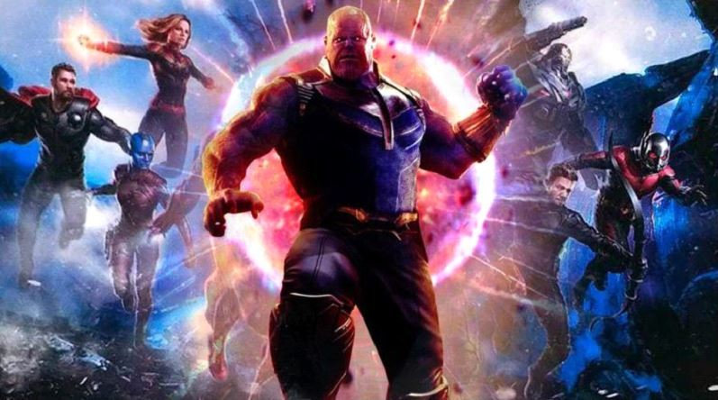 Avengers: Endgame Director Thanos MCU
