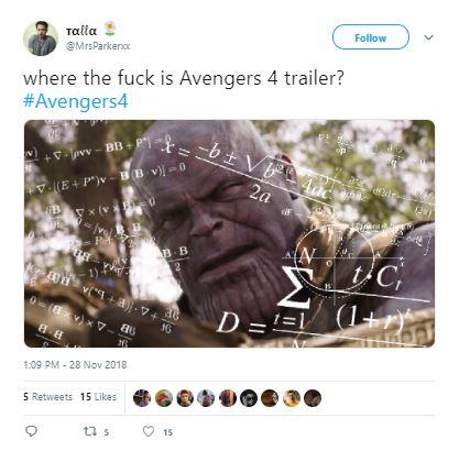 Avengers 4 Trailer MCU