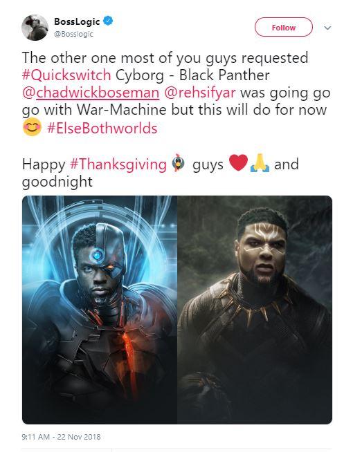 Black Panther Cyborg