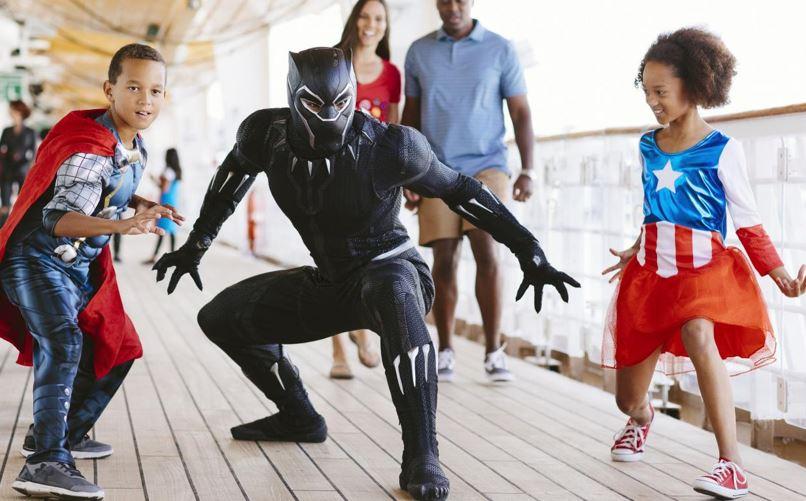 Captain Marvel MCU Disney Cruise Line