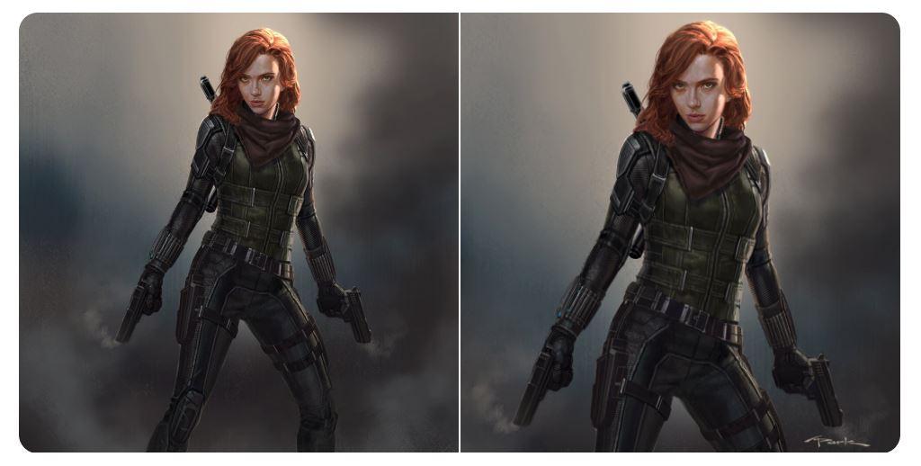 Black Widow Infinity War Marvel