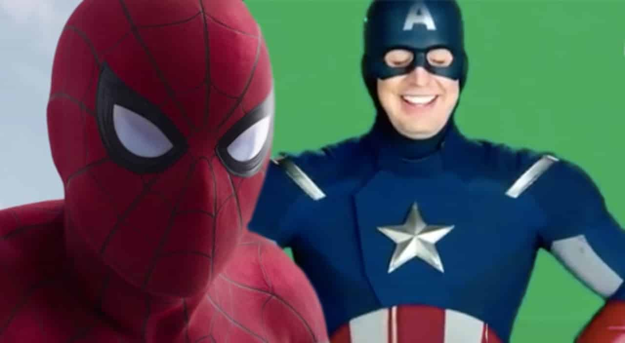 Spider-Man: Homecoming Concept Art Captain America