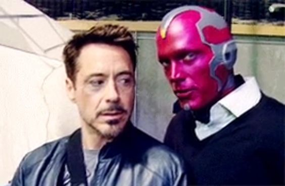 Behind-The-Scene Images of Vision