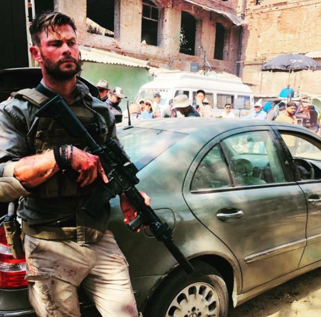 Dhaka Chris Hemsworth David Harbour Netflix