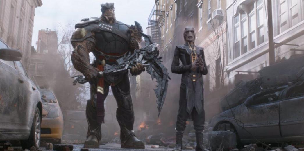 Infinity War Tony Stark Steve Rogers