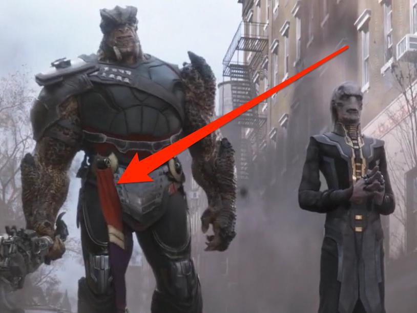 Avengers: Infinity War Cull Obsidian