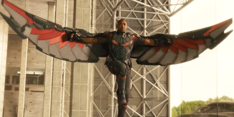 Falcon The Winged Avenger