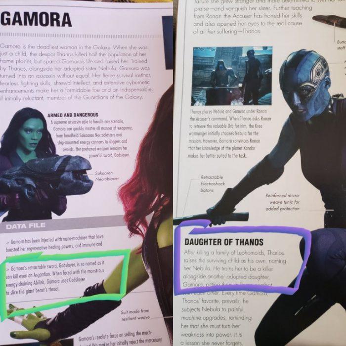 Avengers: Infinity War Gamora Asgardians