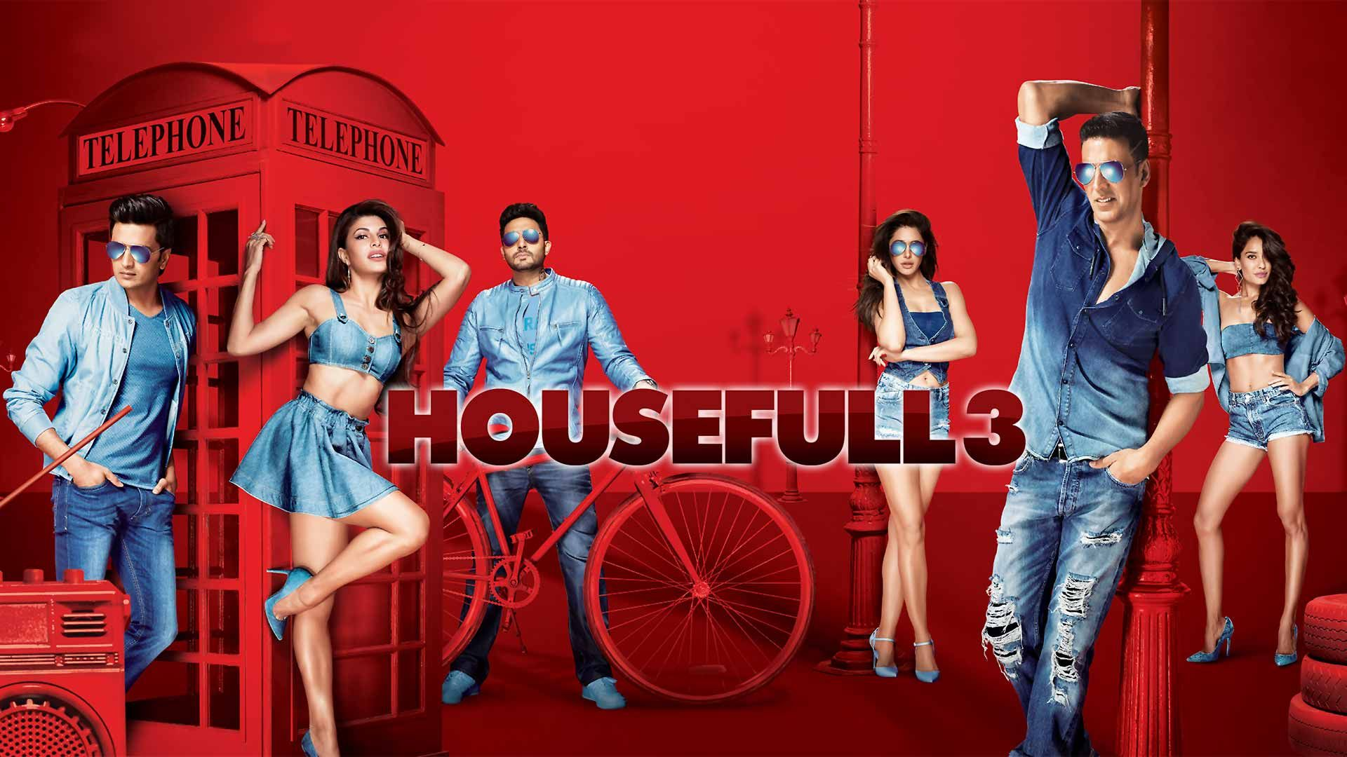 Photo of Housefull 3 Full Movie Download In DVDRip and BluRay Motion For Free