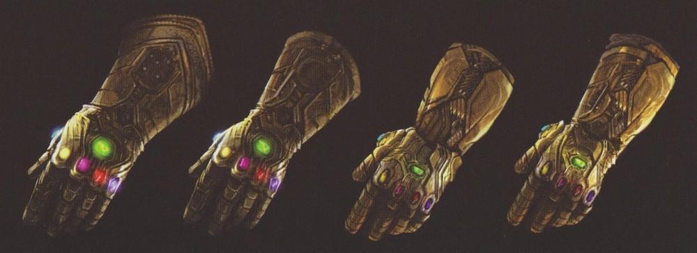 Avengers: Infinity War Concept Art Infinity Gauntlet