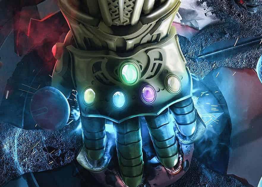 Avengers: Infinity War Thanos Gamora