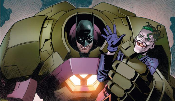 Batman Lex Luthor DC Comics